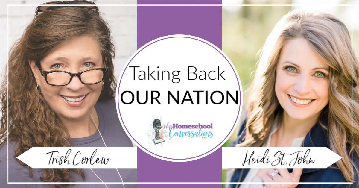 Join the Homeschool Conversation. Trish Corlew, co-owner of Hip Homeschool Moms shares her story about homeschooling, impatience and disorganization. Can you relate?