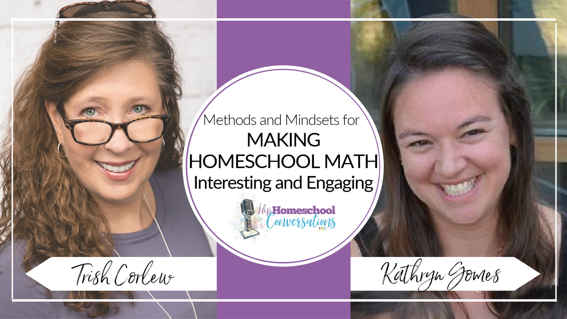 In today's podcast, we have an interesting and insightful conversation with author and speaker Kathryn Gomes, author of Apologia's elementary math curriculum and second-generation homeschooling mother of three who surprised herself by falling in love with math!