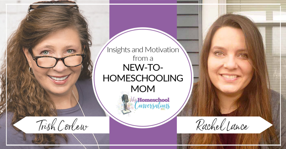 Join us as we interview Rachel Lance, a mom of two who was thrown into homeschooling during a pandemic while working full time and obtaining a graduate degree. #homeschool #hiphomeschoolmoms