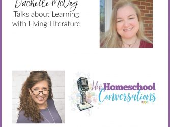 This podcast will inspire tired homeschooling parents to revisit the joy they held as they began their homeschooling journey while leaving behind any former doubt. Join Dachelle to learn more about the beauty and inspiration of Living Literature! You'll be so glad you did!